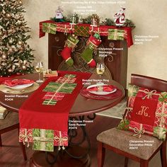 Who can resist the joy that a few extra Christmas Presents may bring? This beautifully detailed velveteen holiday table runner looks elegant. Diy Christmas Tree Skirt, Christmas Diy, Merry Christmas, Christmas Decorations, Xmas, Christmas Presents, Holiday Gifts, Christmas Stockings, Holiday Decor