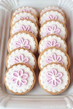 Caramel Cookie - La Primera Comunión de Adriana