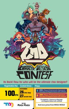 MAD Contest Poster. -Illustration And graphics done by jaynario