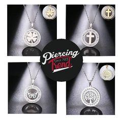Edelstahlschmuck für Damen in gold oder silber-färbig Dog Tags, Dog Tag Necklace, Piercing, Gold, Jewelry, Instagram, Fashion, Silver, Women's