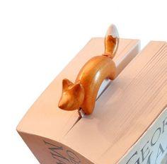 Segnalibro gatto fimo