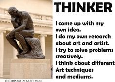 IB LEARNER PROFILE - Thinker