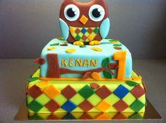 Owl birthday cake - Torte per Tutti