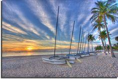 Fort Lauderdale sunrise by Hank Halsey.