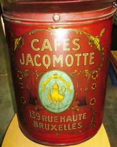 Cafes Jacomotte