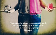 〽️ En ocasiones la misma persona que dice que te amará por siempre, es la misma que te arrancará el corazón a pedazos. Torrancek
