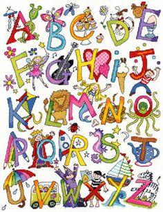 Alphabet Fun Cross Stitch Kit