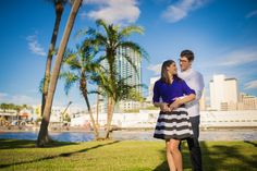 Downtown Tampa makes a great setting for your engagement photos! | Matt Steeves Photography