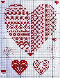 """A""-made by Ljubinka: Vez pokrstica-šeme 123 Cross Stitch, Cross Stitch Heart, Cross Stitch Borders, Cross Stitch Designs, Cross Stitching, Cross Stitch Embroidery, Hand Embroidery, Wedding Cross Stitch Patterns, Cross Stitch Pictures"