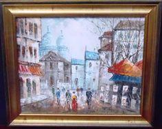 Burg - Cena Urbana - O.S.T. - ACID - Medida total com a moldura aprox. 52 x 62 cm