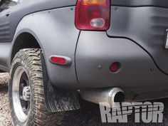 ISUZU VEHICROSS: Full Overspray #raptorised