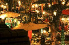 Sunday Market in Chaing Mai, Thailand