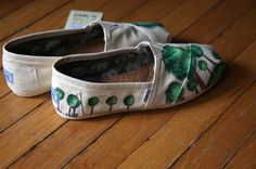 Custom TOMS Shoes  My Forest by shandke on Etsy, $94.50