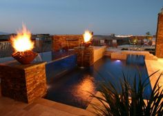 Gas Fire Bowls Pool Builders Outdoor Indoor Living