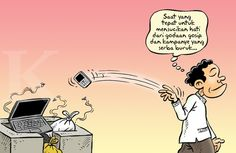 Kartun Benny, Kontan 30.06.2014: Selamat menunaikan Ibadah Puasa