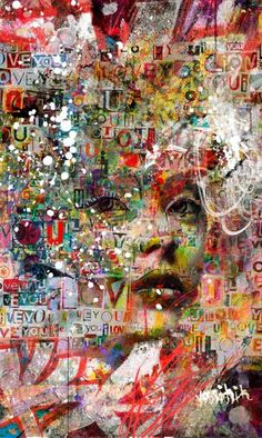 "Saatchi Art Artist yossi kotler; Painting, ""unique expression"" #art"