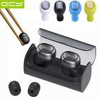 ﹩35.00. US New Mini Wireless Bluetooth Headset Earphone Headphone Inear Q29 Q26 QCY    Compatible Wireless Technology - Bluetooth, Earpiece Design - Earbud (In Ear), Fit Design - In-Ear Only, Features - Built-In Microphone, Bluetooth Version - Bluetooth 4.1, Talk Time - 2.5 Hours, Connector(s) - Micro USB