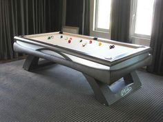 American Contemporary Pool Tables For Sale