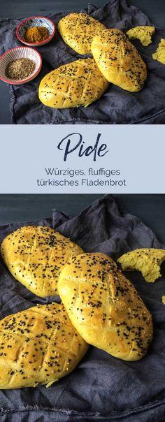 Fluffiges, aromatisches Fladenbrot! Unbeschreiblich lecker #fladenbrot #pide #brot #türkisch