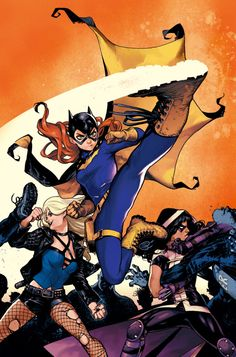 BATGIRL AND THE BIRDS OF PREY #3 : Variant cover