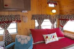 1973 Terry (Fleetwood) 21 ft. Fully Restored Travel Trailer. - Vintage Camper Trailers