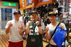 【大阪店】2014.06.25 大学で野球をやってるお二人にスナップにご協力頂きました☆キャップすごくお似合いです\(^o^)/来月、新宿店でお会いできるのを楽しみにしてますね~(^^)v