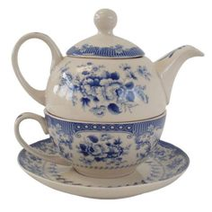 Tea for one - Blue Rose - Pemberley Collection: http://www.janeaustengiftshop.co.uk/collections/afternoon-tea/products/tea-for-one-blue-rose-pemberley-collection