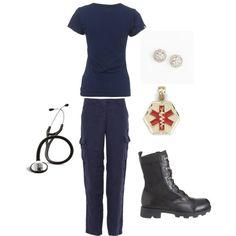 EMT/Paramedic, created by melindarose10 on Polyvore