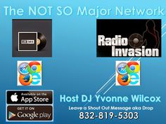 Revival Marketing PR: Internet Radio Promo - Free Airplay with Host DJ Yvonne Wilcox Record Your Shout Out here 832-819-5303 @RadioInvasion
