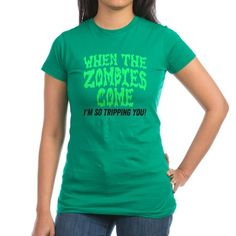 When The Zombies Come T-Shirt #funny #zombie