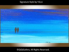 Abstract Painting Landscape Painting Original by QiQiGallery, $75.00