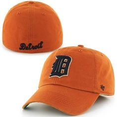 Mens Detroit Tigers '47 Brand Orange Cooperstown Collection Franchise Fitted Hat, Your Price: $29.99