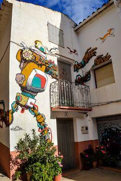 MIAU, Museo Inacabado de Arte Urbano de Fanzara - Castellon (Fanzara - Spain)