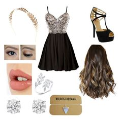 """""""We're beautiful now"""" by bmquiram on Polyvore featuring Red Circle, Wet Seal and Charlotte Tilbury"""