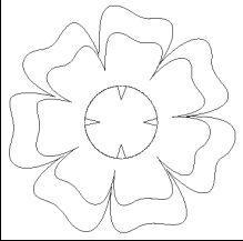 virág sablon - Google keresés