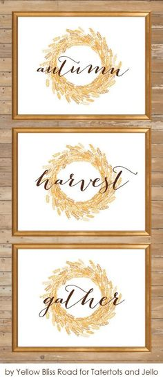 20 Fall Printables | The Everyday Home