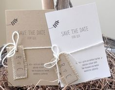 Rustic Save The Dates, Wedding Save The Dates, Save The Date Cards, Wedding Sets, Diy Wedding, Rustic Wedding, Wedding Girl, Wedding Cards, Wedding Stuff
