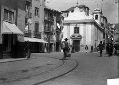 Azores, Old City, Public Transport, Portuguese, Old Photos, Past, The Neighbourhood, Street View, Black And White