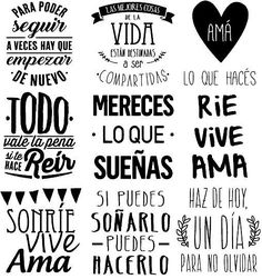 Recursos para cambiar de habitación: de niños a adolescentes – Deco Ideas Hogar Mr Wonderful, Just In Case, Quotations, Decoupage, Love Quotes, Photo Quotes, Doodles, Typography, Clip Art