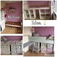 Most recent No Cost Ikea kallax Ikea hack Making a bed Double layer storage bed Style An Ikea kids' space continues to fascinate the little ones, since they're provided much more th Ikea Bed Hack, Ikea Hack Storage, Bed Ikea, Ikea Hacks, Ikea Malm, Ikea Hack Kids, Ikea Kallax Hack, Ikea Kids Bedroom, Diy Bedroom Decor