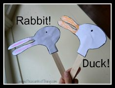 Duck! Rabbit! Puppets - The Pleasantest Thing