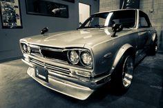 1971 Datsun (Nissan) Skyline GT. - Hakosuka+datsun (1000×667)