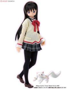 Azone Pure Neemo Character Series: [Puella Magi Madoka Magica] Akemi Homura 1:6 Doll