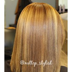 #highlights #haircolor #blonde #dimensionalblonde