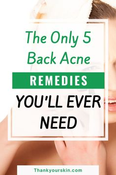 We have compiled few back acne cures that don't require the use of chemicals or harsh components. Explore some of the greatest tricks to get rid of those annoying zits on your back.#diy back acne treatment #clear back acne