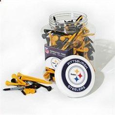 Pittsburgh Steelers Golf Tees - Jar of 175 Tees