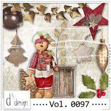 Vol. 0097 - Christmas Mix  by Doudou's Design  cudigitals.com cu commercial scrap scrapbook digital graphics#digitalscrapbooking #photoshop #digiscrap