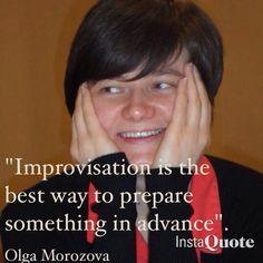 Olga's quote
