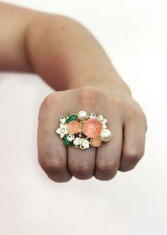 Tangerine Dream Ring   sirenlondon
