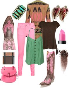 """""""It all starts with a great pair of boots....."""" by kimzarad1 on Polyvore boots available at www.pfiwestern.com"""